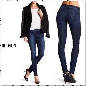 Hudson Jeans   Collin Flap Dark Wash Skinny Jeans